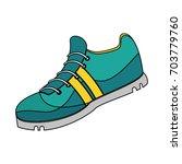 single sneaker icon image