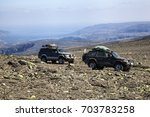 off road extreme mountain... | Shutterstock . vector #703783258