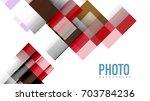 business presentation geometric ... | Shutterstock .eps vector #703784236