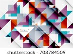 triangle pattern design... | Shutterstock .eps vector #703784509