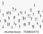 illustration of tiny... | Shutterstock .eps vector #703802473