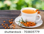 Tea Of Sea Buckthorn Berries...