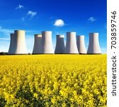 Panoramic View Of Nuclear Powe...