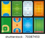 sports grounds | Shutterstock .eps vector #70387453