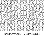 abstract geometric pattern with ... | Shutterstock .eps vector #703939333