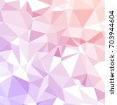 polygonal mosaic background.... | Shutterstock .eps vector #703944604