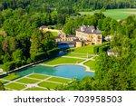 hellbrunn palace or schloss...   Shutterstock . vector #703958503