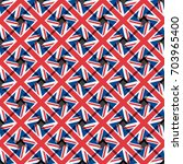 repeating flag of the united... | Shutterstock .eps vector #703965400