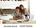 picture of frustrated young...   Shutterstock . vector #703970404