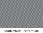 seamless gray unusual zig zag...   Shutterstock .eps vector #703974088