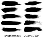 vector collection of artistic... | Shutterstock .eps vector #703982134