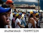 m rida  venezuela   venezuelan... | Shutterstock . vector #703997224