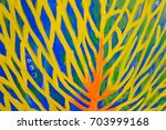 abstract oil pastel texture... | Shutterstock . vector #703999168