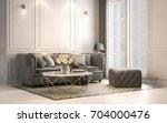 interior living studio  modern... | Shutterstock . vector #704000476