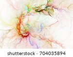 Abstract Colorful Transparent...
