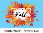 Beautiful Autumn Fall Paper Cu...