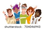 color vector illustration of... | Shutterstock .eps vector #704046943