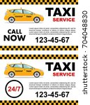 taxi service design over white... | Shutterstock .eps vector #704048830