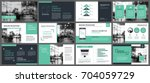green presentation templates...