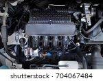 car engine | Shutterstock . vector #704067484