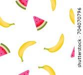 fruits pattern  vector...   Shutterstock .eps vector #704070796