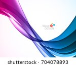 vector waves lines design for... | Shutterstock .eps vector #704078893