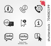 info icon   Shutterstock .eps vector #704082199