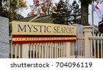 mystic  ct   oct. 23  2014 ...   Shutterstock . vector #704096119