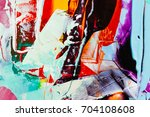 painted abstract background | Shutterstock . vector #704108608