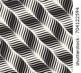 seamless wavy pattern.... | Shutterstock .eps vector #704122594