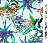 Tropical Seamless Pattern....