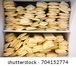 frozen breast milk storage bags ... | Shutterstock . vector #704152774