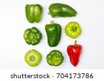 Top View Of Different Kinds Of...