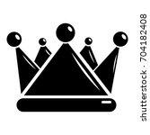 kievan rus crown icon. simple...