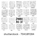 mega set of doodles vector....
