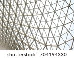 steel structure geometry... | Shutterstock . vector #704194330