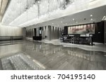 luxury lobby interior. | Shutterstock . vector #704195140