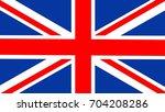 high resolution uk flag for... | Shutterstock . vector #704208286