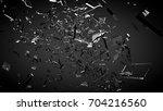 beautiful fragments of glass...   Shutterstock . vector #704216560