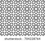 abstract pattern in arabian... | Shutterstock .eps vector #704228764
