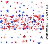background with red and blue... | Shutterstock .eps vector #704255116