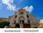 cathedral saint j r me. digne... | Shutterstock . vector #704262049