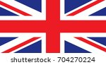 uk flag | Shutterstock .eps vector #704270224