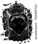 the black vector design for...   Shutterstock .eps vector #704289724