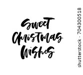 vector christmas card with the... | Shutterstock .eps vector #704300518