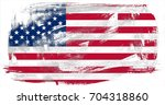 united states of america flag... | Shutterstock . vector #704318860