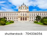the natural history museum or... | Shutterstock . vector #704336056