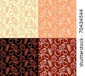 fruit patterns | Shutterstock .eps vector #70434544
