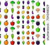 big vector collection of... | Shutterstock .eps vector #704348029