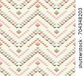 ethnic boho seamless pattern.... | Shutterstock .eps vector #704348203